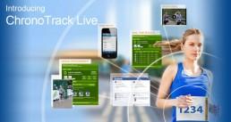 Visueel overzicht van de onderdelen van ChronoTrack Live.