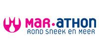 Logo van Mar-athon rond Sneek en meer