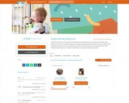 Donatiepagina voor het Sophia Kinderziekenhuis.